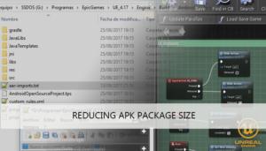 reducing ue4 apk tutorial