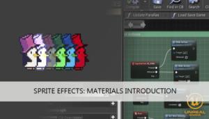 sprite effects ue4 tutorial